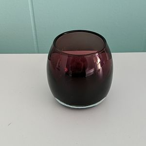 Partylite Amethyst Ombre Candle Holder